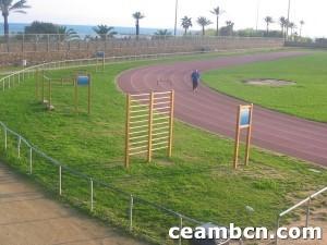 Pistas atletismo Mar Bella, Barcelona